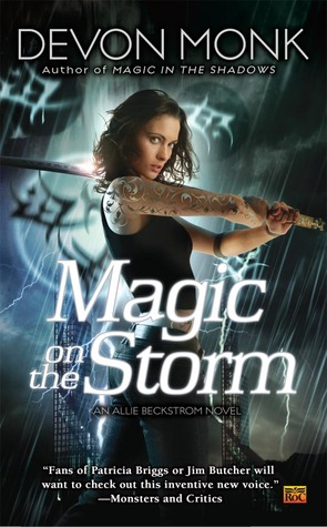 Magic on the Storm (Allie Beckstrom, #4)