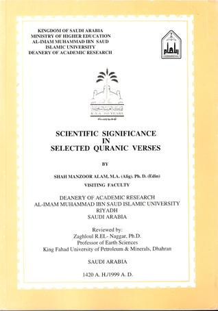 Scientific Significance in Selected Quranic Verses