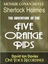 The Five Orange Pips by Arthur Conan Doyle