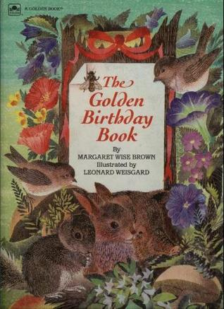 The Golden Birthday Book