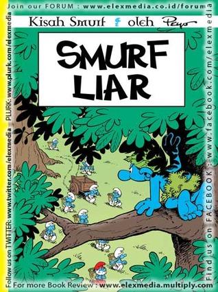 Smurf Liar by Peyo