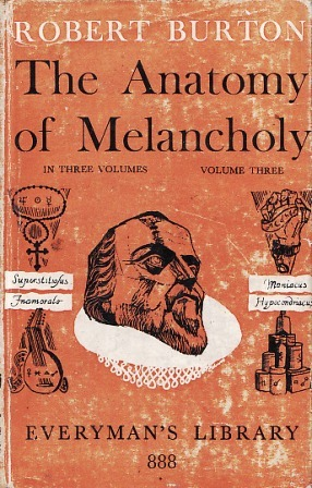 The Anatomy of Melancholy: Vol. 3 by Robert Burton