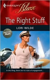 The Right Stuff (Harlequin Blaze, #463) (Uniformly Hot!, #4)