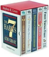 Stephen R. Covey Mixed: The 7 Habits of Highly Effective People, Living the 7 Habits, First Things First, Principle Centered Leadership, the 7 Habits of Highly Effective Families
