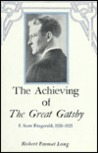 The Achieving of the Great Gatsby: F. Scott Fitzgerald, 1920-1925