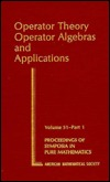 Operator Theory: Operator Algebras And Applications
