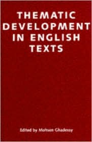 Thematic Development of English Texts