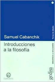 Introducciones a la Filosofia