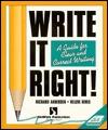 Write It Right! by Richard Andersen