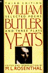 Selected Poems and Three Plays by W.B. Yeats