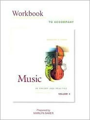 Wkbk Music in Theory and Practice Vol 2 plus Finale software