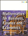 Mathematics For Business, Finance And Economics