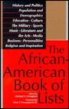 The African-American Book of Lists by Michael E. Livingston