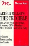 Arthur Miller's the Crucible: And a Memory of Two Mondays, a View from the Bridge, After the Fall, Incident at Vichy