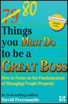 80 Things You Must Do to Be a Great Boss