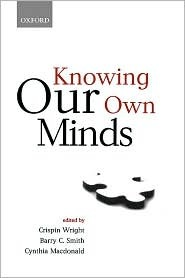 Knowing Our Own Minds