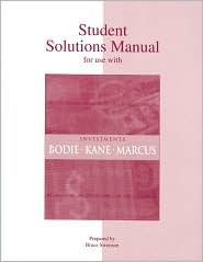student solutions manual for investments by zvi bodie rh goodreads com Student Solutions Manual Digital Designs Chegg Solution Manual