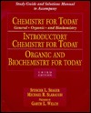 Study Guide and Solutions Manual to Accompany Chemistry for Today, Introductory Chemistry for Today, Organic and Biochemistry for Today