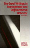 Great Writings in Management and Organizational Behavior