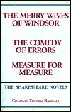 The Shakespeare Novels: The Merry Wives of Windsor/The Comedy of Errors/Measure for Measure