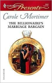The Billionaire's Marriage Bargain