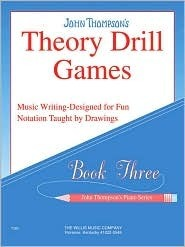 Theory Drill Games - Book 3: Elementary Level