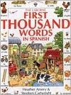 The First Thousand Words In Spanish [With Cassettee and Workbook]
