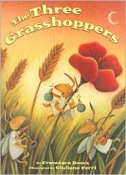 The Three Grasshoppers by Francesca Bosca
