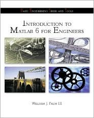 Introduction to MATLAB 6 for Engineers