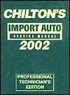 Import Car Service Manual 1998-2002 (Chilton's Import Auto Service Manual, 2002)