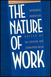 The Nature of Work: Sociological Perspectives