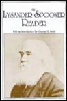 The Lysander Spooner Reader
