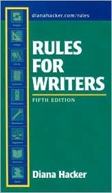 Rules for Writers, 5th Edition & Comment for Rules for Writers, 5th Edition