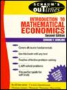 Introduction to Mathematical Economics (Schaum's Outlines)