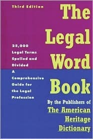 The Legal Word Book: A Comprehensive Guide for the Legal Profession