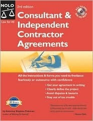 Consultant & Independent Contractor Agreements [With CDROM]