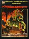 Monstrous Compendium Annual: Volume Three