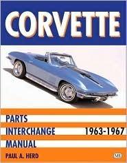 Corvette Parts Interchange Manual, 1963-1967