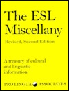 The ESL Miscellany: A Treasury of Cultural & Linguistic Information Audiolibros en espanol para descarga gratuita torrent