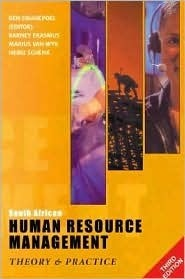South African Human Resource Management: Theory & Practice