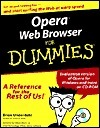 Opera Web Browser for Dummies [With CDROM]