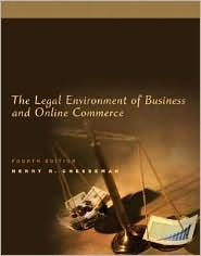 The legal environment of business and online commerce by henry r 4453081 fandeluxe Gallery