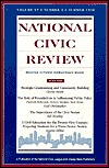 National Civic Review, No. 2, Summer 98: Dialogues on Philanthropy and Community Building