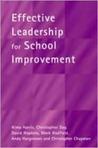 Effective Leadership for School Improvement