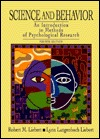 Science And Behavior: An Introduction To Methods Of Psychological Research
