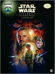 Star Wars Episode I the Phantom Menace: Clarinet, Book & CD [With CD]