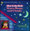 Stars, Moon, Clouds (Golden Glow in the Dark Books)