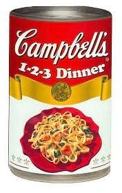 Campbell's 1 2 3 Dinner Recipes