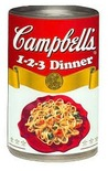Campbell's 1 2 3 Dinner Recipes