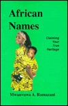 African Names: Claiming Your True Heritage